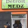 Detroit police raid medical marijuana dispensary front