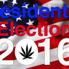 Marijuana is a HUGE Presidential Issue