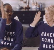 Snoop Dogg and Martha Stewart In Marijuana Inspired Super Bowl Ad