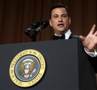 Jimmy Kimmel Talks Marijuana Legalization at White House Correspondents' Dinner