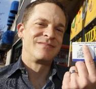 Medical marijuana activist makes his first legal purchase in Montclair NJ
