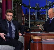 Seth Rogen Teaches David Letterman All About Smoking Weed (VIDEO)