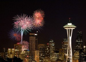 washington fireworks space needle hbtv hemp beach tv