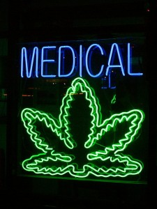 medical-marijuana neon sign hbtv hemp beach tv 657