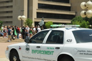 DFW-norml police car hbtv hemp beach tv