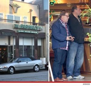 James Gandolfini Visits LA Marijuana Dispensary hbtv hemp beach tv