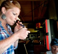 Washington bar's patrons with pot are living the high life