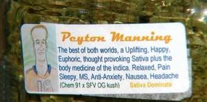 Peyton Manning pot strain hbtv hemp beach tv