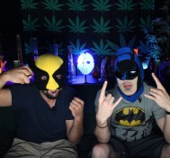 Hemp Beach TV Episode 249 Wolverine & Batman take over for Halloween