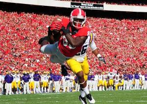 Georgia receiver Justin Scott-Wesley