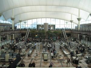 Denver international airport TSA security hbtv hemp beach tv