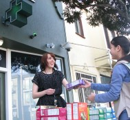Girl Scout Sets Up Shop Outside Marijuana Dispensary