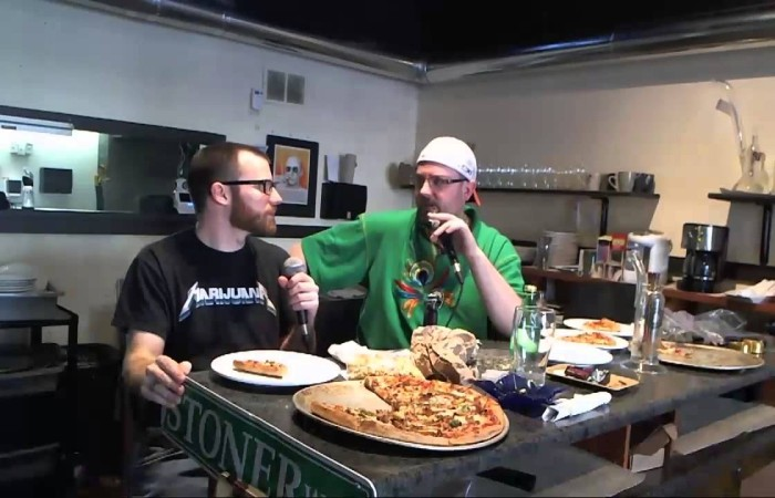 Mega Ill Pizzaria marijuana pizza hbtv hemp beach tv