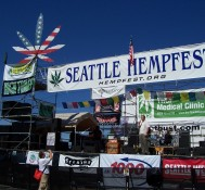 You're at the Seattle Hempfest, but where's the legal weed?