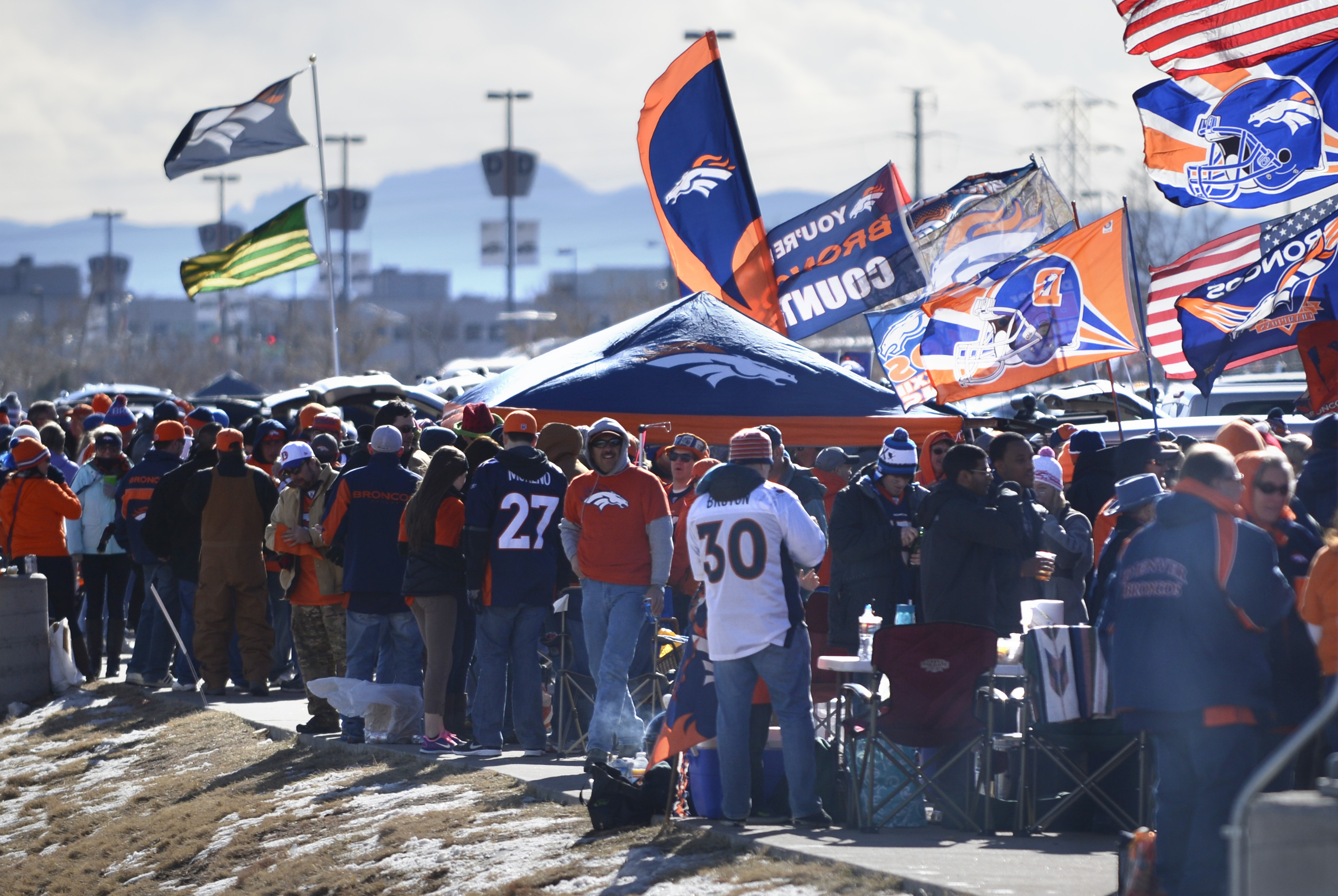 Marijuana Seeps Into Tailgating Rituals At Mile High In