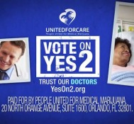 Medical marijuana takes a hit in Florida support is down to 51% #YesOn2